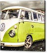 Vw Campervan Acrylic Print