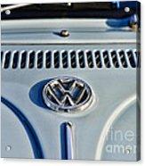 Vw Volkswagen Bug Beetle Acrylic Print