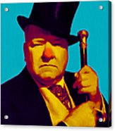 W C Fields 20130217m135 Acrylic Print by Wingsdomain Art and Photography