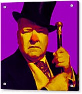 W C Fields 20130217m30 Acrylic Print by Wingsdomain Art and Photography