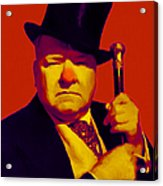 W C Fields 20130217p50 Acrylic Print by Wingsdomain Art and Photography
