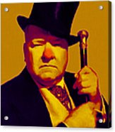 W C Fields 20130217p80 Acrylic Print by Wingsdomain Art and Photography