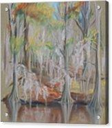Waccamaw River Impressions Acrylic Print