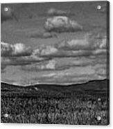 Wachusett Mountain Bw Acrylic Print