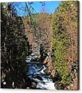 Wachusett Reservoir Spillway 2 Acrylic Print