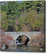 Wachusett Reservoir Spillway 6 Acrylic Print