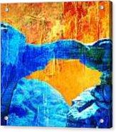 Wadi Rum Natural Arch 2 Acrylic Print