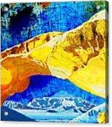 Wadi Rum Natural Arch Acrylic Print
