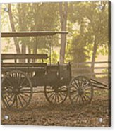 Wagon - Abe's Buggie Acrylic Print by Mike Savad