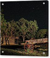 Wagon And Stars 2am 115859and115863_stacked Acrylic Print