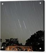 Wagon And Stars 2am 115864and115870 Stacked Image Acrylic Print