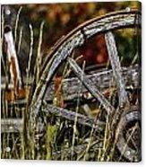 Wagon Down Acrylic Print