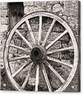 Wagon Wheel Acrylic Print