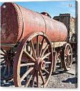 Wagons In The Sun Acrylic Print