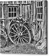 Wagons Lost Acrylic Print by Crystal Nederman