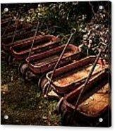 Wagons Of Yesterday Acrylic Print
