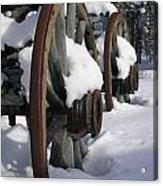 Wagons West Acrylic Print