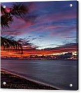 Waialua Sunset Acrylic Print
