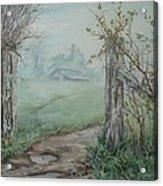 Waikato Fog. Acrylic Print