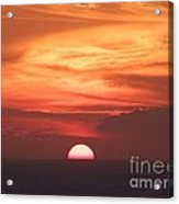 Waikiki Sunset No 3 Acrylic Print