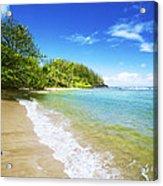 Waikoko Beach Shore Acrylic Print