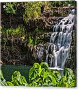 Waimea Falls Acrylic Print