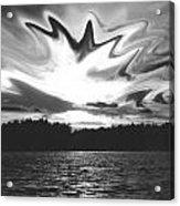 Waining Skies Acrylic Print