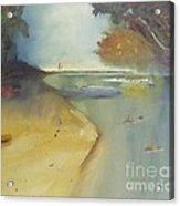 Waipu Cove In New Zealand Acrylic Print by Debra Piro