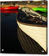 Waiting At The Dock Acrylic Print by Karol Livote