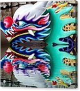 Waiting Dragon Reflect  Acrylic Print