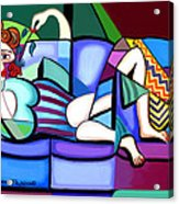 Waiting For Billy Acrylic Print by Anthony Falbo