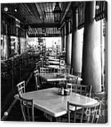 Waiting For Customers In New Orleans Mono Acrylic Print