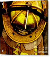 Waiting For Fire - Battalion 2  Acrylic Print by Steven  Digman