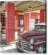 Waiting For Gas Acrylic Print