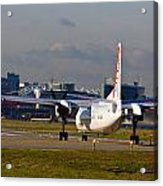 Waiting For Take-off  Acrylic Print