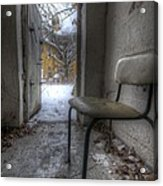 Waiting For The Cold War Acrylic Print