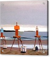Waiting For The Sun Acrylic Print