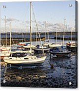 Waiting For The Tide To Turn Acrylic Print