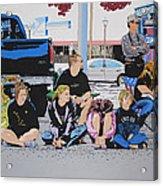 Waiting Acrylic Print by Lance Bifoss