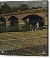Waiting Paris France Acrylic Print
