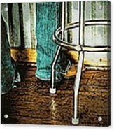 Waiting Waitress  Acrylic Print by Chris Berry