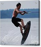 Wakeboarder Acrylic Print