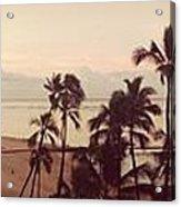 Waking Up On Waikiki Acrylic Print