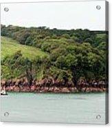 Wales Coastline Panorama Acrylic Print