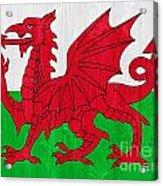 Wales Flag Acrylic Print