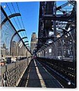 Walk Across Sydney Harbour Bridge Acrylic Print