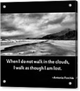 Walk In The Clouds Acrylic Print