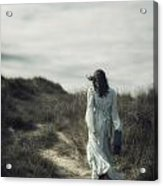 Walk In The Wind Acrylic Print