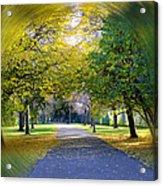 Walk The Way Acrylic Print