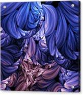 Walk Through The Petals Abstract Acrylic Print